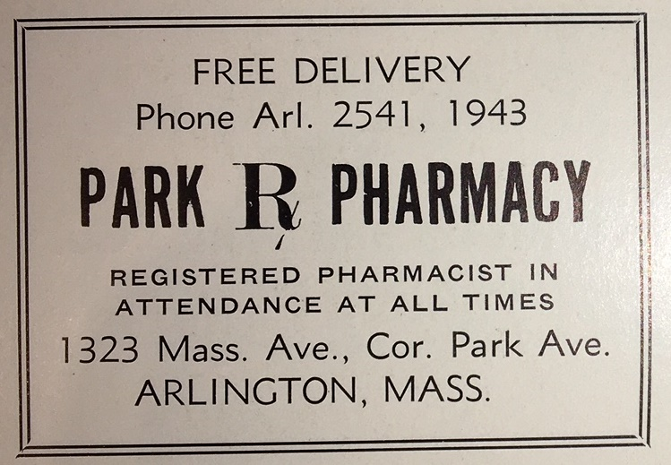 Park Pharmacys 1948 Nifty New Soda Fountain