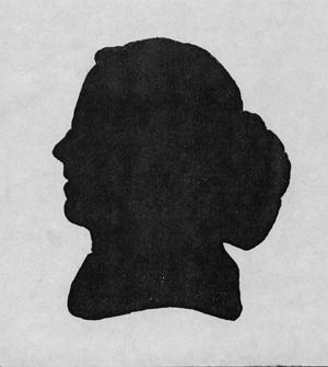 Reverend Samuel Cooke Silhouette