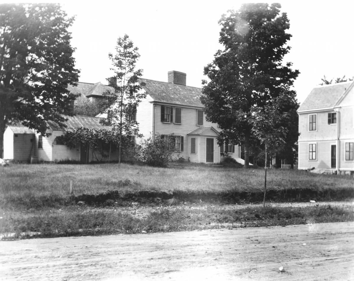 Jason Russell House Circa 1905