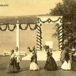 Arlington Historical Society members at the Arlington Pageant in 1867