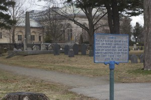 The Old Burying Ground in Arlington, MA. Photo courtesy of Wikimedia user Tim Pierce.
